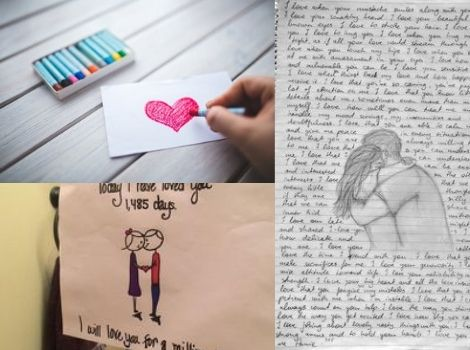 sweet love letter for him