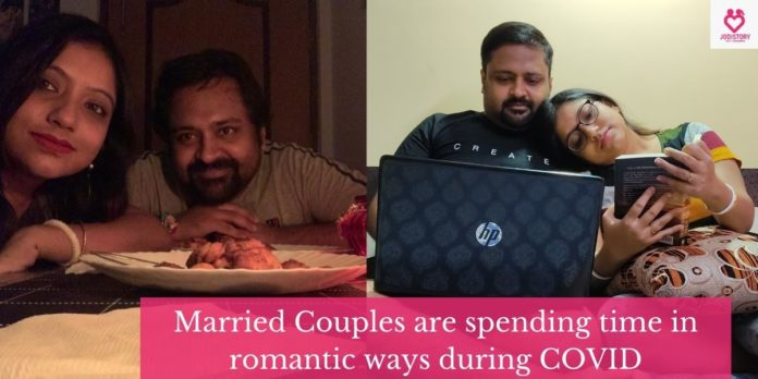 Ways married couples are spending time during COVID